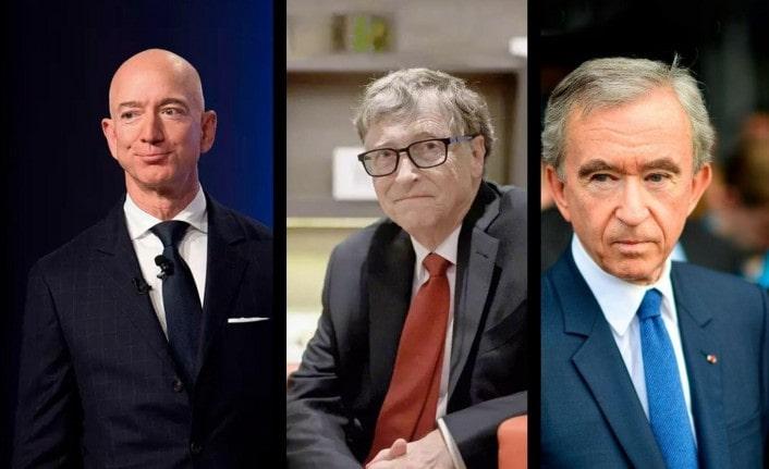 Dünyanın En Zengin 10 İsmi ve Sektörleri